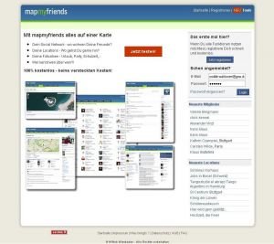 Map Your Friends Social Network Community