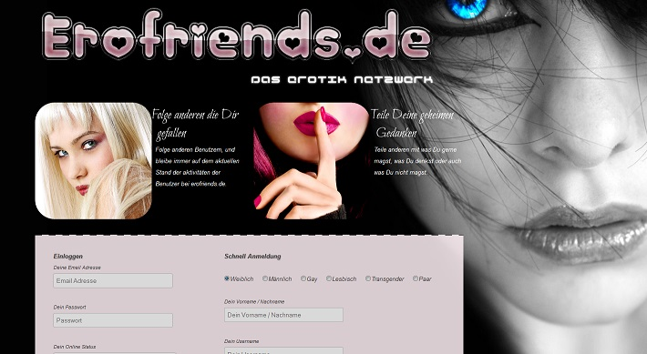 Erofriends Erotik Netztwerk Community