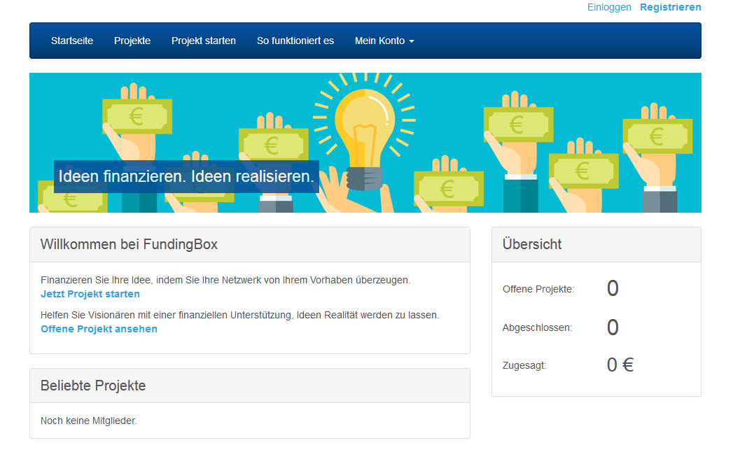 Crowdfunding Community System PHP Script