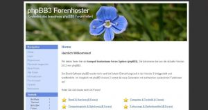 PHP Script Forum Hoster phpbb3 System